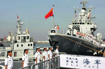 China has been steadily building and strengthening its naval capabilities