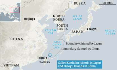 Disputes over national ownership of the Senkaku/Diaoyu islands in the East China Sea have re-intensified relations between China and Japan in recent years