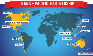 China was not included in recently finalized TPP discussions, which places larger pressure on strong bilateral trade relationships with regional partners